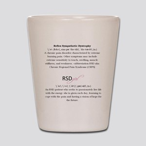 RSDgirl Definition Shot Glass