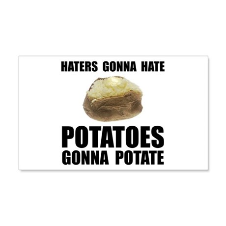 Potatoes Potate 22x14 Wall Peel
