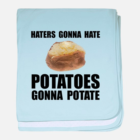 Potatoes Potate baby blanket