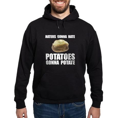 Potatoes Potate Hoodie (dark)