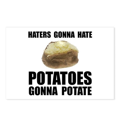 Potatoes Potate Postcards (Package of 8)