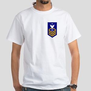 USCGR BMCS<BR> White T-Shirt