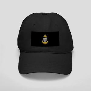 Senior Chief<BR> Black Cap