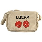 Lucky Dice Messenger Bag
