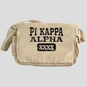 Pi Kappa Alpha Athletic Personalized Messenger Bag