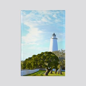 Ocracoke Lighthouse. Rectangle Magnet