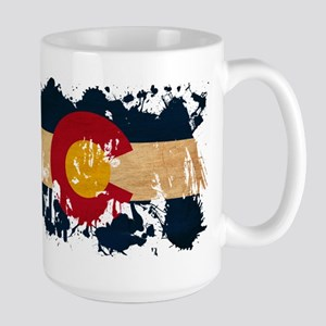 Colorado Flag Large Mug