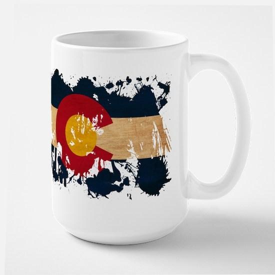 Colorado Flag Large Mug