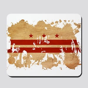 District of Columbia Flag Mousepad
