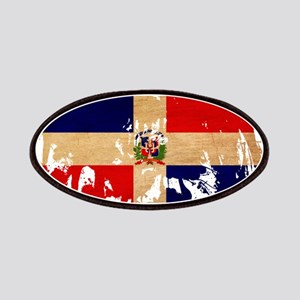 Dominican Republic Flag Patches