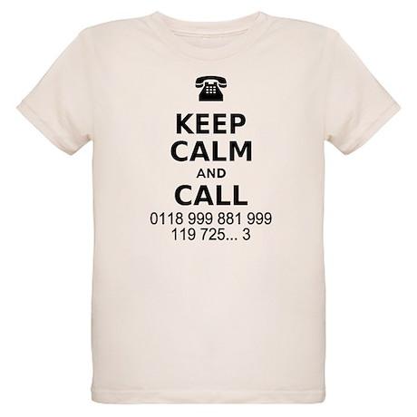 Keep Calm and Call Organic Kids T-Shirt