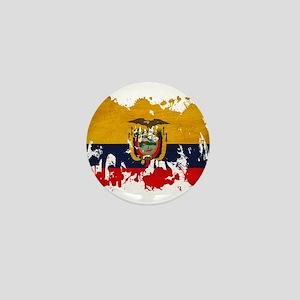 Ecuador Flag Mini Button
