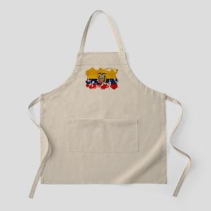 Ecuador Flag Apron