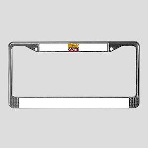 Ecuador Flag License Plate Frame
