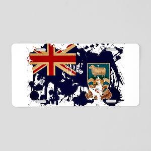 Falkland Islands Flag Aluminum License Plate