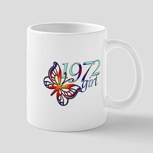 40th Birthday Gifts, 1972 Mug