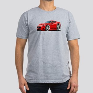 California Red Coupe Men's Fitted T-Shirt (dark)