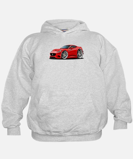 California Red Coupe Hoody