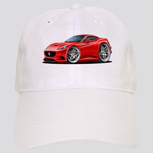 California Red Coupe Cap