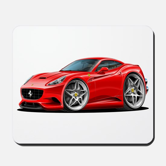 California Red Coupe Mousepad