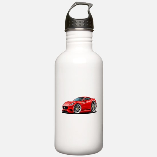 California Red Coupe Water Bottle