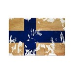 Finland Flag Rectangle Magnet (100 pack)