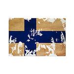 Finland Flag Rectangle Magnet (10 pack)