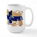Finland Flag Large Mug