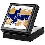 Finland Flag Keepsake Box