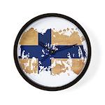 Finland Flag Wall Clock