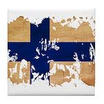 Finland Flag Tile Coaster