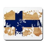 Finland Flag Mousepad