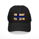 Finland Flag Black Cap