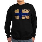 Finland Flag Sweatshirt (dark)
