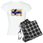 Finland Flag Women's Light Pajamas