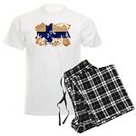 Finland Flag Men's Light Pajamas