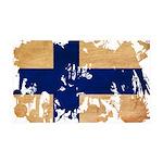 Finland Flag 38.5 x 24.5 Wall Peel