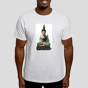 Sitting Buddha Light T-Shirt