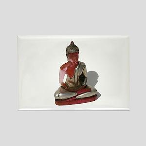 Pink Buddha Rectangle Magnet