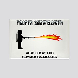 Yooper Snowblower Rectangle Magnet