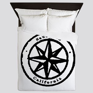 Sausallito, California Queen Duvet