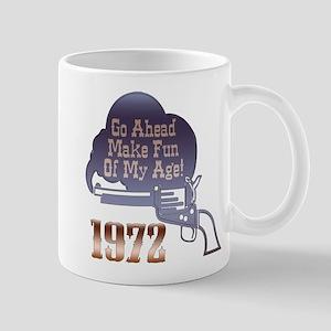 40th Gifts, 1972 Mug