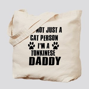 Tonkinese Daddy Tote Bag