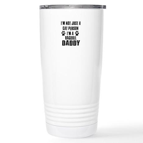 Ragdoll Daddy Stainless Steel Travel Mug