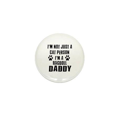 Ragdoll Daddy Mini Button (100 pack)
