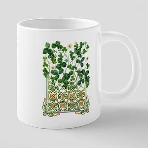 Celtic Shamrock Mugs