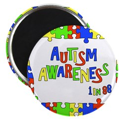 Puzzle Frame Autism Aware 2.25