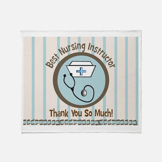 Nursing School Throw Blanket