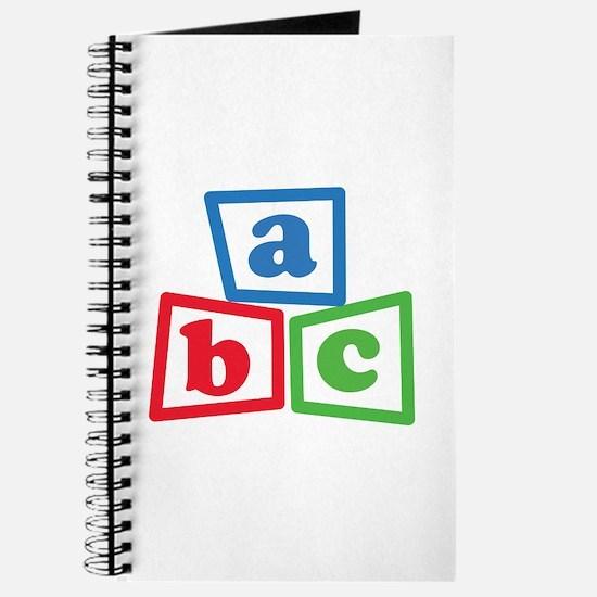 ABC Blocks Journal