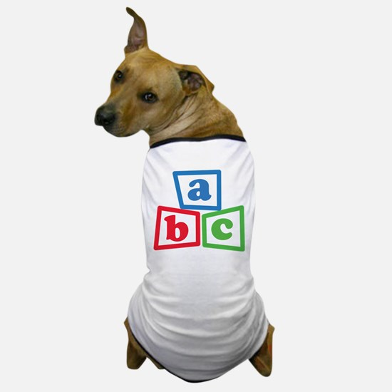 ABC Blocks Dog T-Shirt